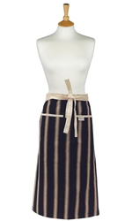 Mercara Stripe Large Half Apron