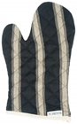 Mercara Stripe Black Oven Mitt
