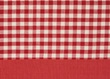 Tablecloths & Napkins Ziro Check Red